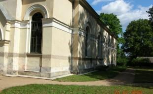 Elektroosmoze Zaļenieku baznīca