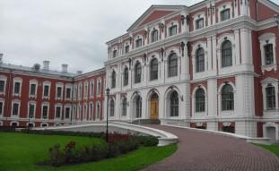 Elektroosmoze Jelgavas pils